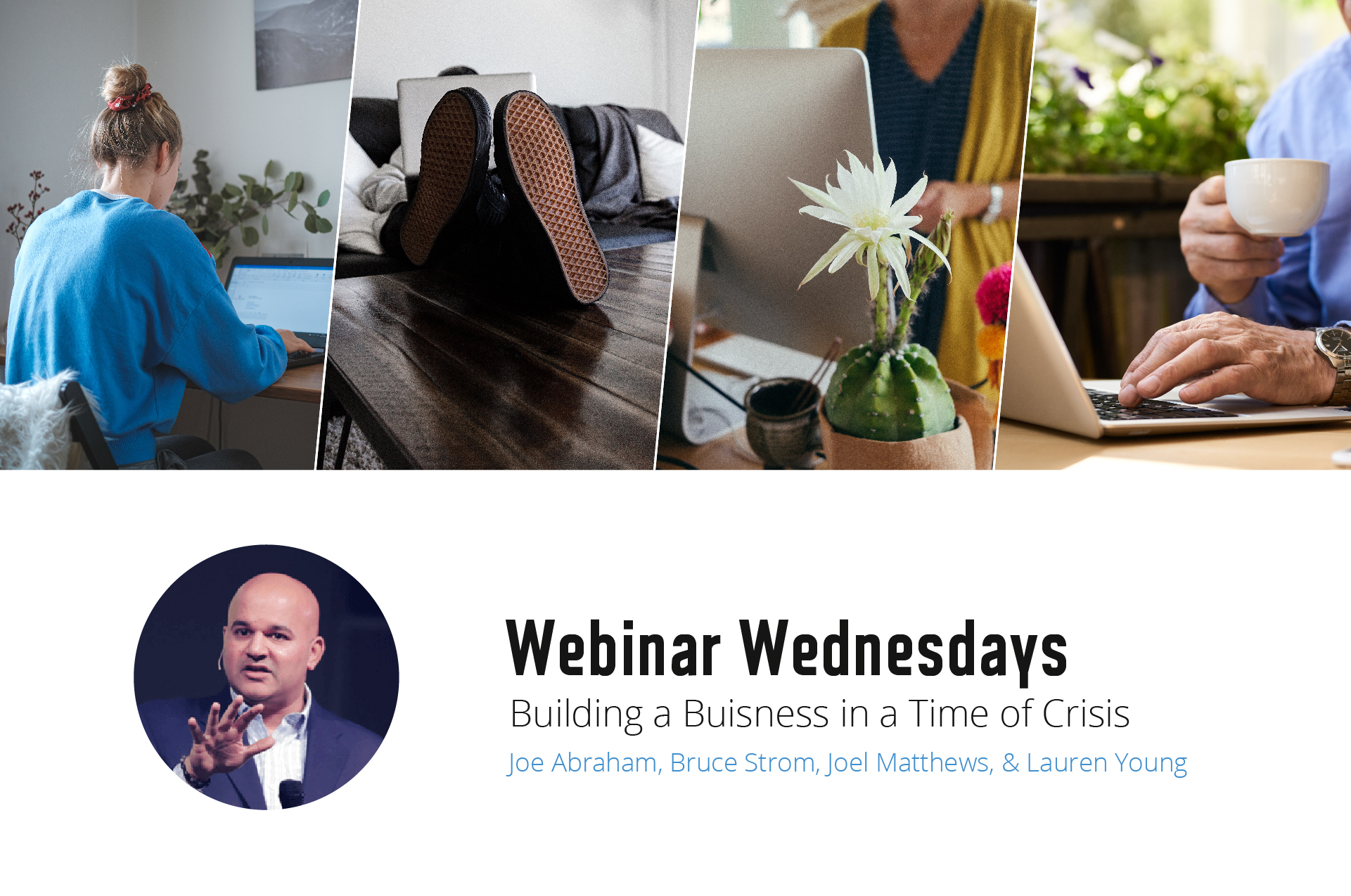 webinar wednesday building a business in a time of crisis